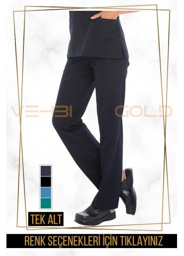 Vehbi Özel Gold Likralı Forma Alt (Pantolon-Kadın)