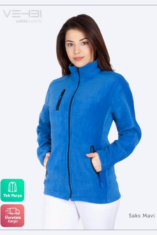 Kadın Doktor Hemşire Poları Hastane Kışlık Polar Ceket Modeli