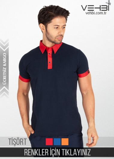 Gömlek Yaka Erkek Garson Tişörtü Garson Kıyafeti